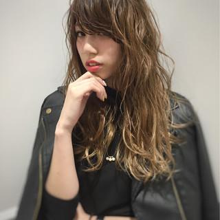 パーマ 前髪あり ストリート 外国人風 ヘアスタイルや髪型の写真・画像 ヘアスタイルや髪型の写真・画像