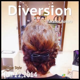 ヘアアレンジ 編み込み バレッタ ヘアアクセ ヘアスタイルや髪型の写真・画像