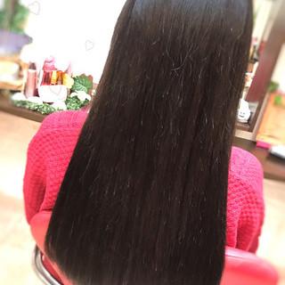 黒髪 大人可愛い 大人女子 エクステ ヘアスタイルや髪型の写真・画像