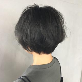 ショート ナチュラル 大人女子 ショートボブ ヘアスタイルや髪型の写真・画像
