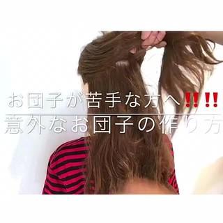 エレガント 簡単ヘアアレンジ 夏 ヘアアレンジ ヘアスタイルや髪型の写真・画像