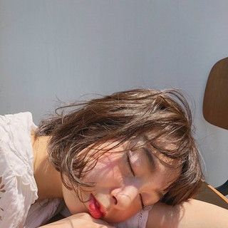 伊藤美羽さんのヘアスナップ