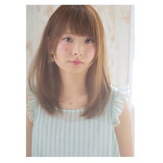 ハイライト ガーリー アッシュ 大人かわいい ヘアスタイルや髪型の写真・画像 ヘアスタイルや髪型の写真・画像
