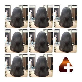 頭皮ケア 髪の病院 トリートメント セミロング ヘアスタイルや髪型の写真・画像