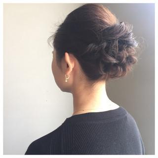 大人かわいい フェミニン ミディアム エレガント ヘアスタイルや髪型の写真・画像