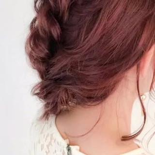 大人かわいい まとめ髪 デート フェミニン ヘアスタイルや髪型の写真・画像
