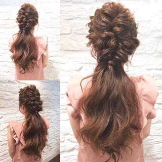 ヘアアレンジ ロング 簡単ヘアアレンジ ショート ヘアスタイルや髪型の写真・画像