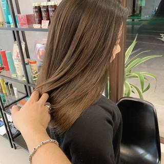 ストリート エクステ エアータッチ 透明感カラー ヘアスタイルや髪型の写真・画像