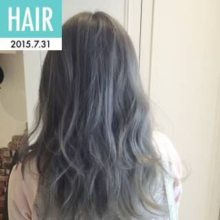 渋谷系 ブリーチ 個性的 ガーリー ヘアスタイルや髪型の写真・画像