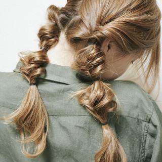 ショート ヘアアレンジ セミロング ロング ヘアスタイルや髪型の写真・画像