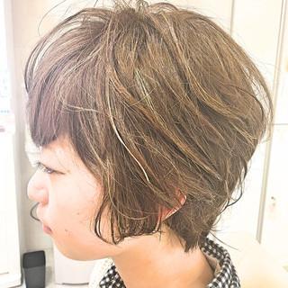 外国人風 前髪あり ストリート ハイライト ヘアスタイルや髪型の写真・画像