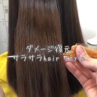 グレージュ エレガント 外国人風カラー 上品 ヘアスタイルや髪型の写真・画像