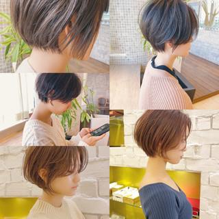 ショート ショートボブ ベリーショート ミニボブ ヘアスタイルや髪型の写真・画像