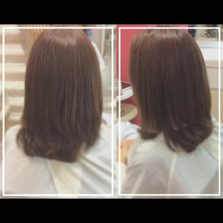 艶髪 大人ヘアスタイル ナチュラル 髪質改善トリートメント ヘアスタイルや髪型の写真・画像