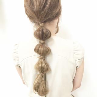 愛され ロング モテ髪 波ウェーブ ヘアスタイルや髪型の写真・画像