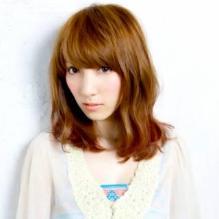 愛され コンサバ 大人かわいい フェミニン ヘアスタイルや髪型の写真・画像