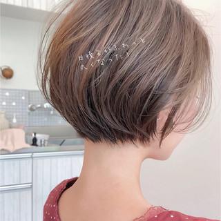 ゆるふわ アンニュイほつれヘア ショートボブ ショートヘア ヘアスタイルや髪型の写真・画像