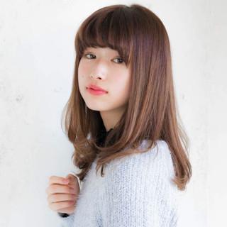パーマ 大人かわいい 前髪あり フェミニン ヘアスタイルや髪型の写真・画像