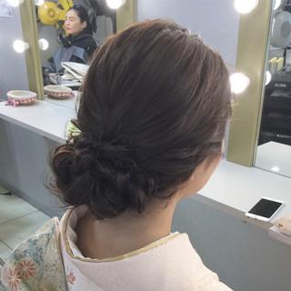 大人かわいい ヘアアレンジ 結婚式 編み込み ヘアスタイルや髪型の写真・画像