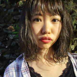 長井美菜さんのヘアスナップ