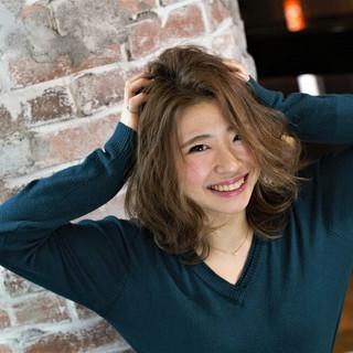 ハイライト 外国人風 ストリート 大人かわいい ヘアスタイルや髪型の写真・画像