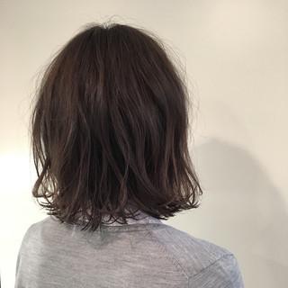 ゆるふわ アッシュ デート パーマ ヘアスタイルや髪型の写真・画像