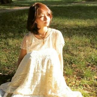 エレガント ウェーブ 上品 女子力 ヘアスタイルや髪型の写真・画像