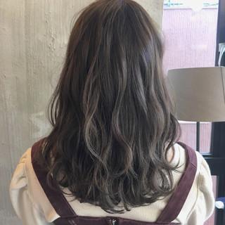 愛され オフィス ヘアアレンジ ミディアム ヘアスタイルや髪型の写真・画像