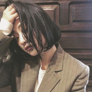 鈴木さとるさんのヘアスナップ