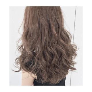 くせ毛風 ロング グラデーションカラー 外国人風 ヘアスタイルや髪型の写真・画像