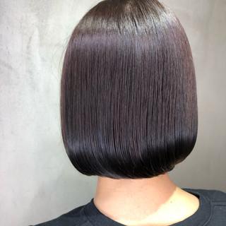 ミニボブ ベリーショート ショートボブ ボブ ヘアスタイルや髪型の写真・画像