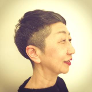 ショート ベリーショート ヘアスタイルや髪型の写真・画像