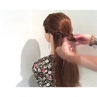 ヘアアレンジ 上品 女子会 夏 ヘアスタイルや髪型の写真・画像