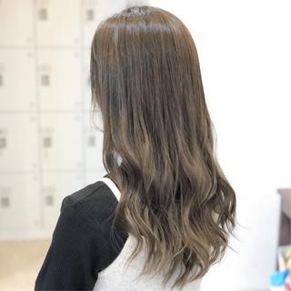 トリートメント ロング 外国人 外国人風フェミニン ヘアスタイルや髪型の写真・画像