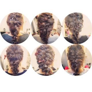 ヘアアレンジ 簡単ヘアアレンジ ナチュラル 大人かわいい ヘアスタイルや髪型の写真・画像 ヘアスタイルや髪型の写真・画像