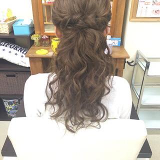 ルーズ ヘアアレンジ ロング エクステ ヘアスタイルや髪型の写真・画像 ヘアスタイルや髪型の写真・画像
