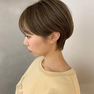 ベリーショート ショートボブ ショート ショートヘア ヘアスタイルや髪型の写真・画像