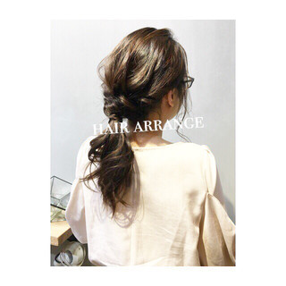 ナチュラル ヘアアレンジ デート 大人かわいい ヘアスタイルや髪型の写真・画像 ヘアスタイルや髪型の写真・画像