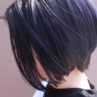 グラデーションカラー ハイトーン バレイヤージュ ハイライト ヘアスタイルや髪型の写真・画像