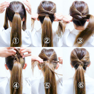 エレガント ヘアアレンジ オフィス ロング ヘアスタイルや髪型の写真・画像 ヘアスタイルや髪型の写真・画像