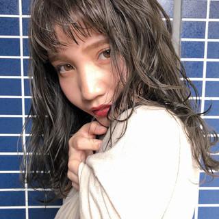 外国人風フェミニン 外国人風カラー フェミニン 透明感 ヘアスタイルや髪型の写真・画像