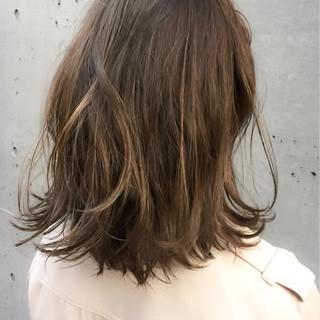 デート 透明感 冬 ナチュラル ヘアスタイルや髪型の写真・画像