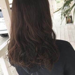 ゆるふわパーマ ベージュ パーマ ブラウンベージュ ヘアスタイルや髪型の写真・画像
