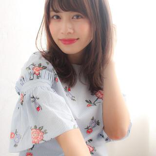 色気 リラックス パーマ フェミニン ヘアスタイルや髪型の写真・画像