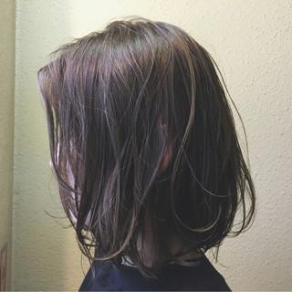 黒髪 アッシュ パーマ ボブ ヘアスタイルや髪型の写真・画像 ヘアスタイルや髪型の写真・画像
