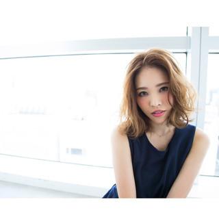 色気 ガーリー 外国人風 大人女子 ヘアスタイルや髪型の写真・画像