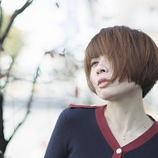 モード ハンサム かっこいい 大人女子 ヘアスタイルや髪型の写真・画像