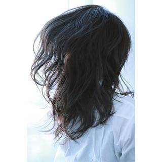 ロング アッシュグレージュ ストリート アッシュ ヘアスタイルや髪型の写真・画像
