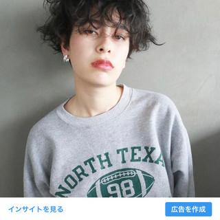 外国人風 秋 透明感 ショート ヘアスタイルや髪型の写真・画像