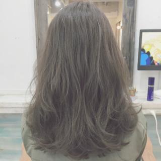 暗髪 ストリート グラデーションカラー 外国人風 ヘアスタイルや髪型の写真・画像